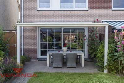 Aluminium Veranda Brava - Breedte 406x350cm Verandakopen.nl