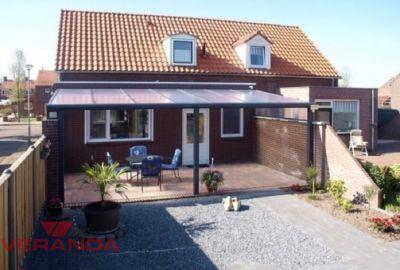 Aluminium Veranda Brava - vooraanzicht - Verandakopen.nl