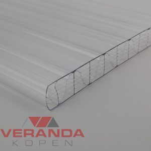 Lexan Thermoclear Plus 2UV - 6RS - 32mm - 1250mm breed polycarbonaat