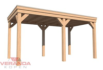 Pext veranda vrijstaand modern - 725,8cm breed