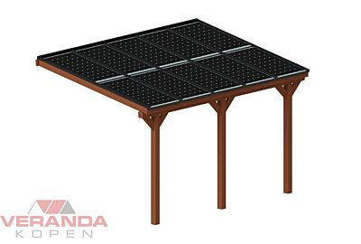 Pext DDS50 Douglas solar veranda aanbouw