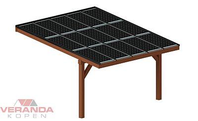 Pext Douglas solar veranda DDS50XL aanbouw